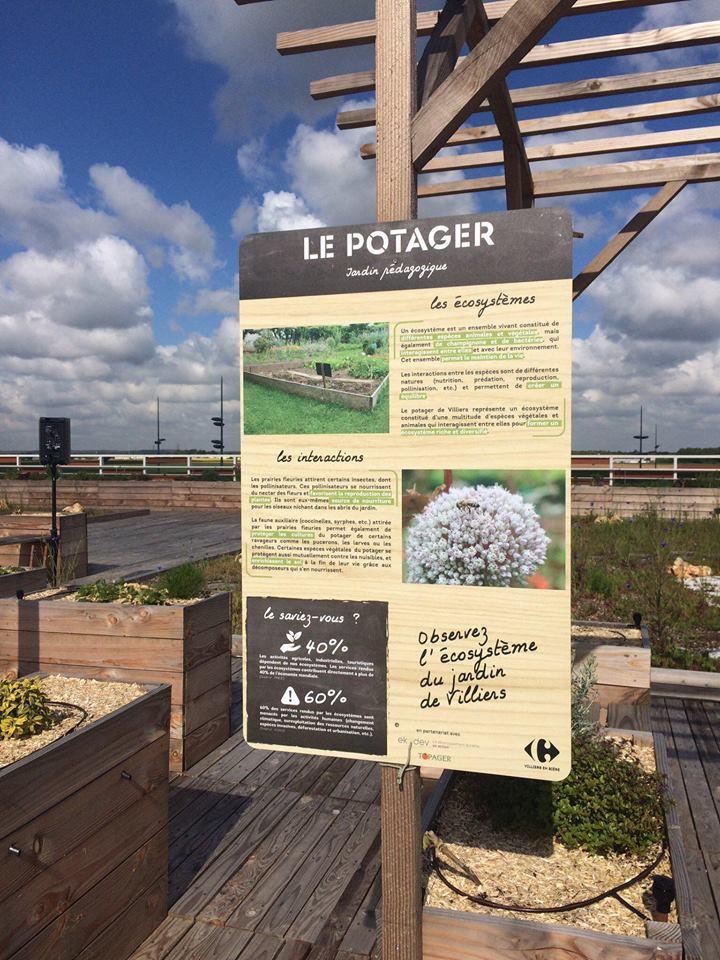 Photo : Carrefour Villiers-en-Bière / Facebook