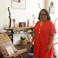Patricia Lavocat, fondatrice de Rue Rangoli