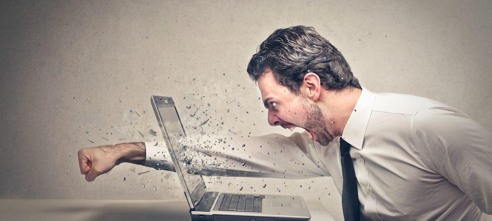 La perte de données cause du stress
